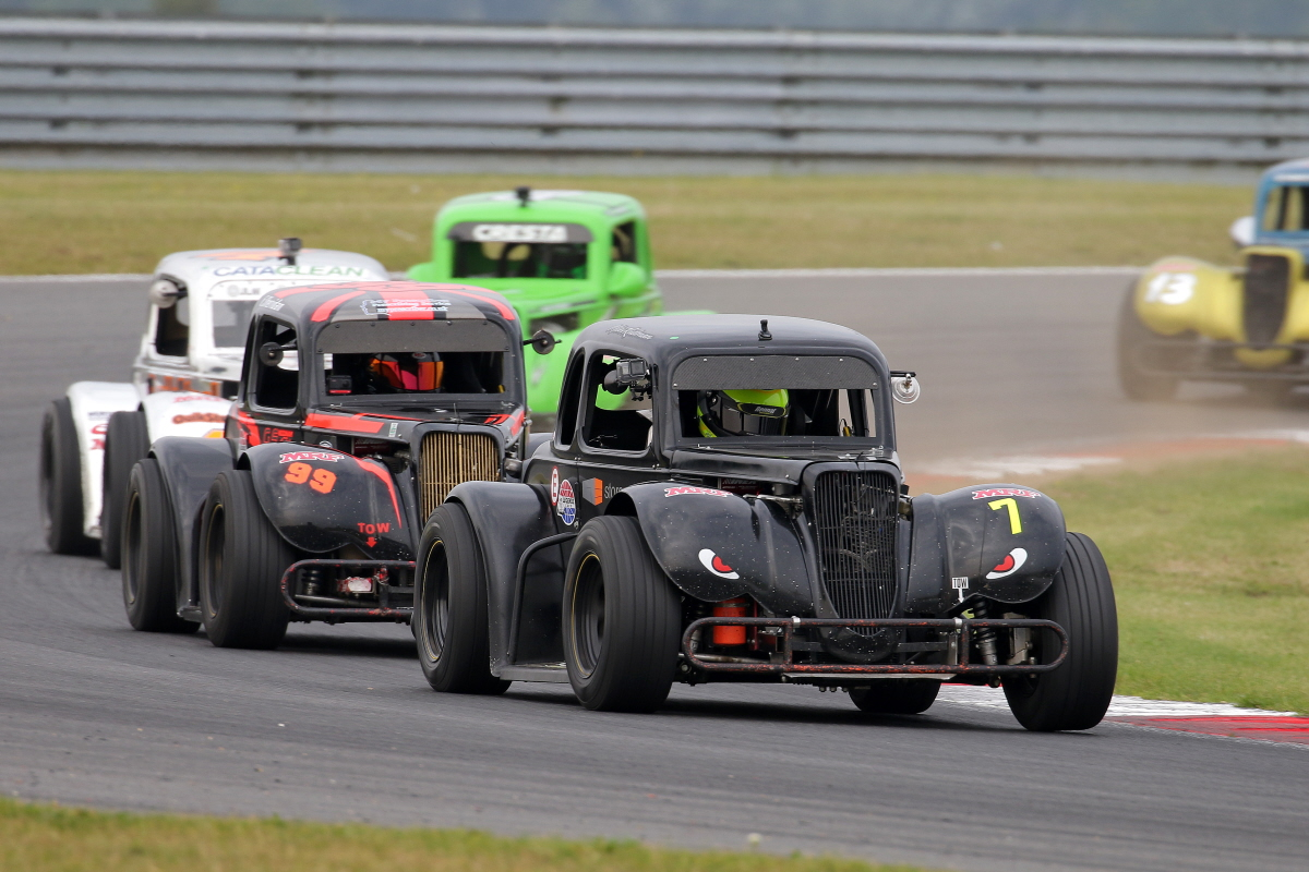 Dramatic Turnaround Of Fortunes For Rudman At Snetterton With Winning Hat-Trick