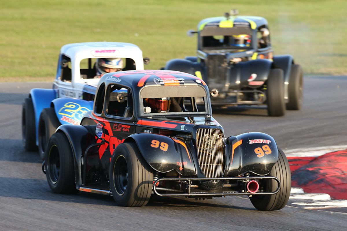 Needham Joins Roll-Call Of Legends Race Winners At Snetterton