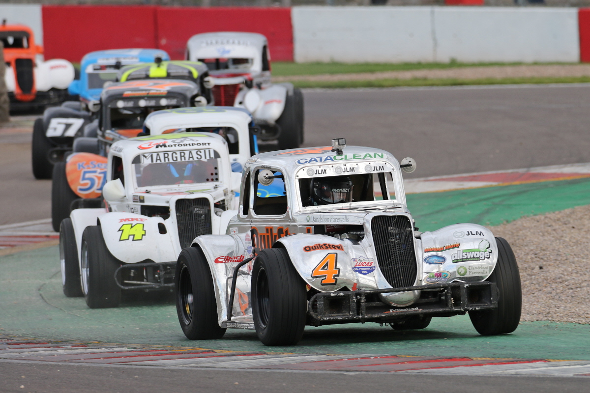 Title Battle Could Not Be Closer As Legends Prepare For Visit To Snetterton
