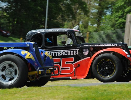 Summer Break Almost Over As MRF Legends Cars Head To Croft