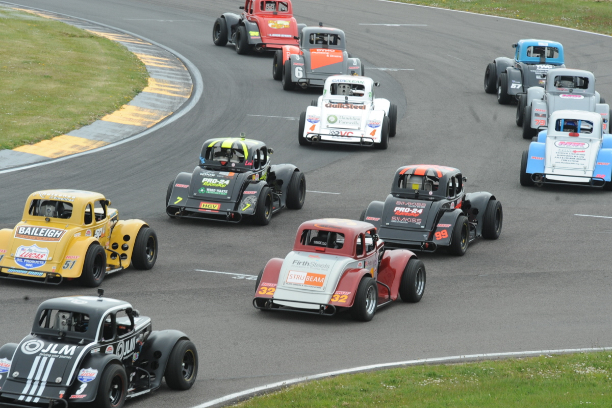Extra Live Broadcast Boost For Donington Legends Races