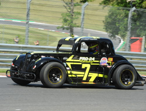 Rudman On Course For Legends Crown As Season Prepares To Conclude At Brands