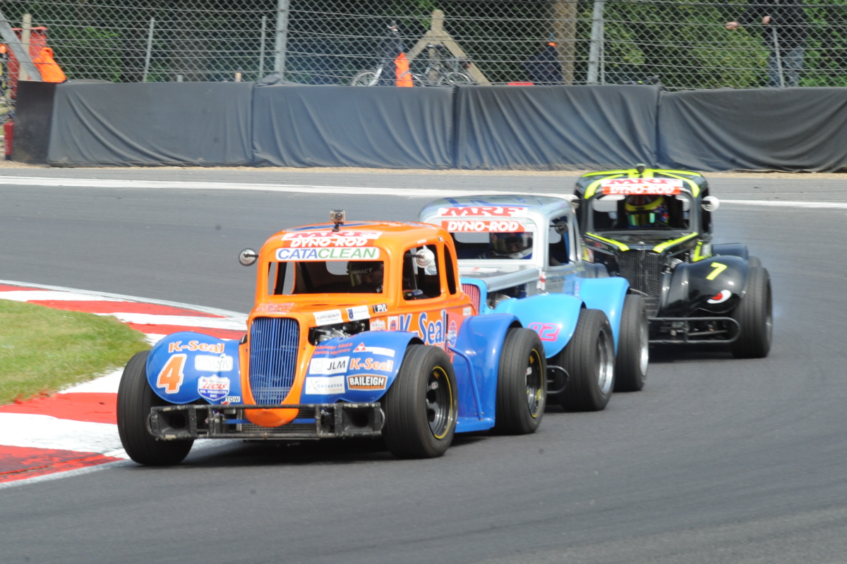 Four Different Winners During American Speedfest At Brands Hatch