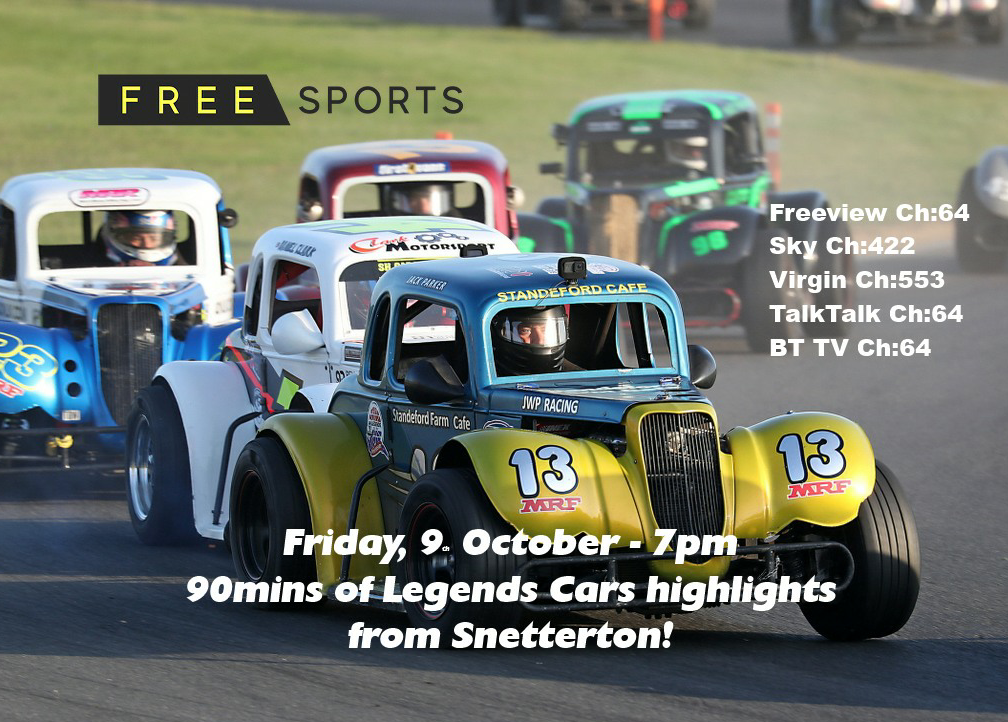 FreeSports TV Snetterton Highlights – this Friday!